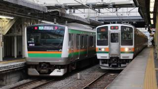 211系A56編成 普通 高崎発車