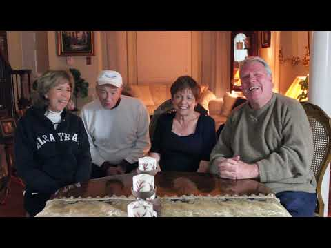 Larry Shaw and Diane Brinkler visiting Flower Mound