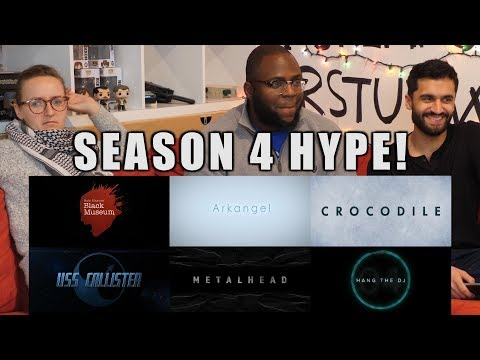 Black Mirror Season 4 Trailer Reactions, Predictions and Thoughts