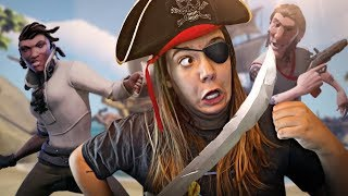 ROUBEI UM TESOURO PIRATA!! - Sea of Thieves