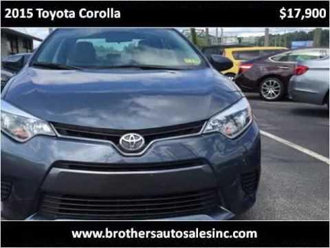 2015 Toyota Corolla Used Cars Huntington WV