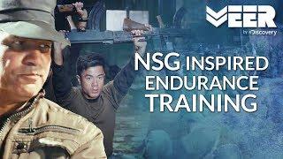 NSG Inspired Rifle PT Exercises | India