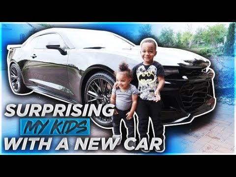 SURPRISING MY KIDS WITH THEIR DREAM CAR | THE PRINCE FAMILY