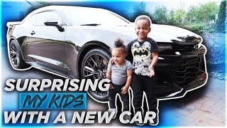 SURPRISING MY KIDS WITH THEIR DREAM CAR...