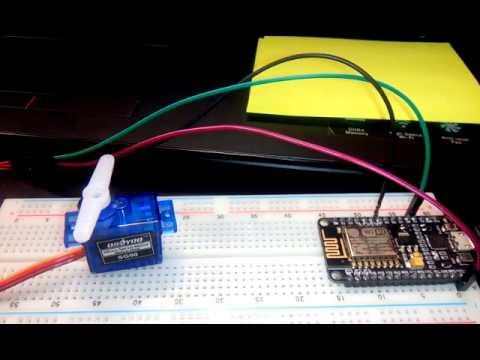 Servo Motor tutorial-ESP8266 NodeMCU – IOT – Building