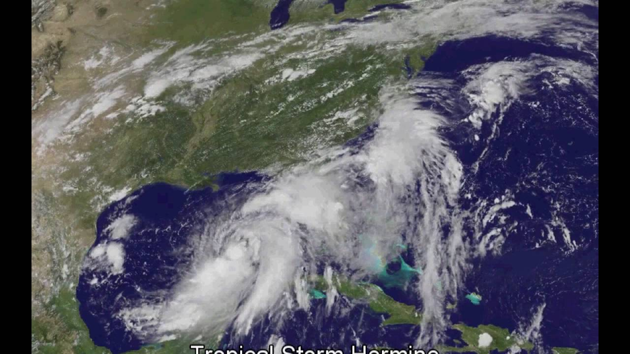 Hurricane Hermine Forms In The Gulf Of Mexico Satellite Video - Weather radar gulf of mexico satellite