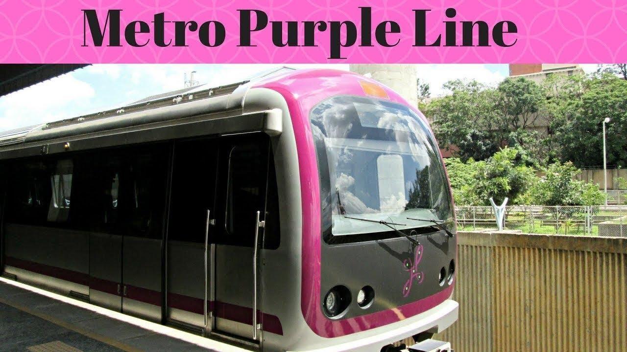 Bangalore Metro Ride | Mysuru Road to Baiyappanahalli | Namma Metro | Purple Line