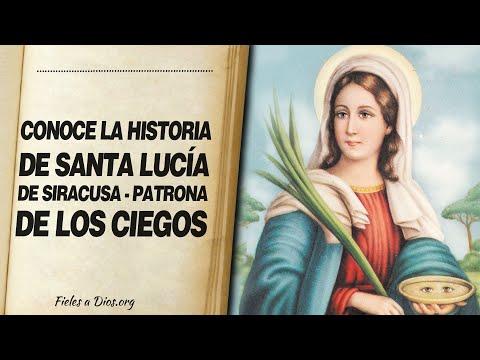 🙏 Conoce la HISTORIA DE SANTA LUCÍA DE SIRACUSA - Patrona de los Ciegos 📖