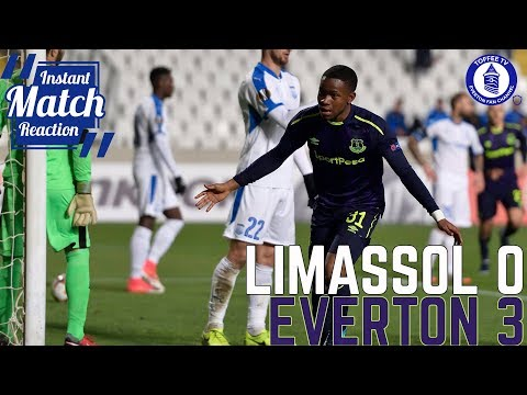 Apollon Limassol 0-3 Everton | YOUNG BLUES EXIT EUROPA IN STYLE