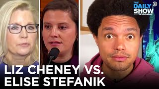 GOP Ousts Liz Cheney and Promotes Elise Stefanik | The Daily Show