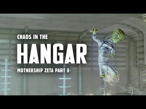 Mothership Zeta Part 3: Chaos in the Hangar - Plus, Gas Leak in the Engine Core - Fallout 3 Lore