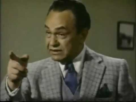 "Edward G. Robinson (Scene from ""Hell on Frisco Bay 1955 ).. Film Noir"