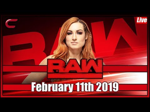 WWE RAW Live Stream Full Show February 11th 2019: Live Reaction Conman167