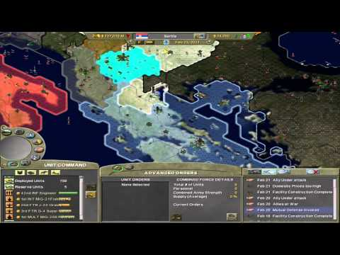 Supreme Ruler 2020 - Kingdom of Serbia - Part 4