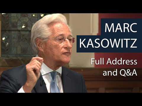 Marc Kasowitz | Full Address and Q&A | Oxford Union