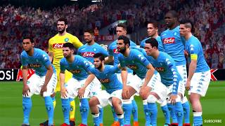 LIVERPOOL vs NAPOLI   UEFA Champions League 2018   Gameplay