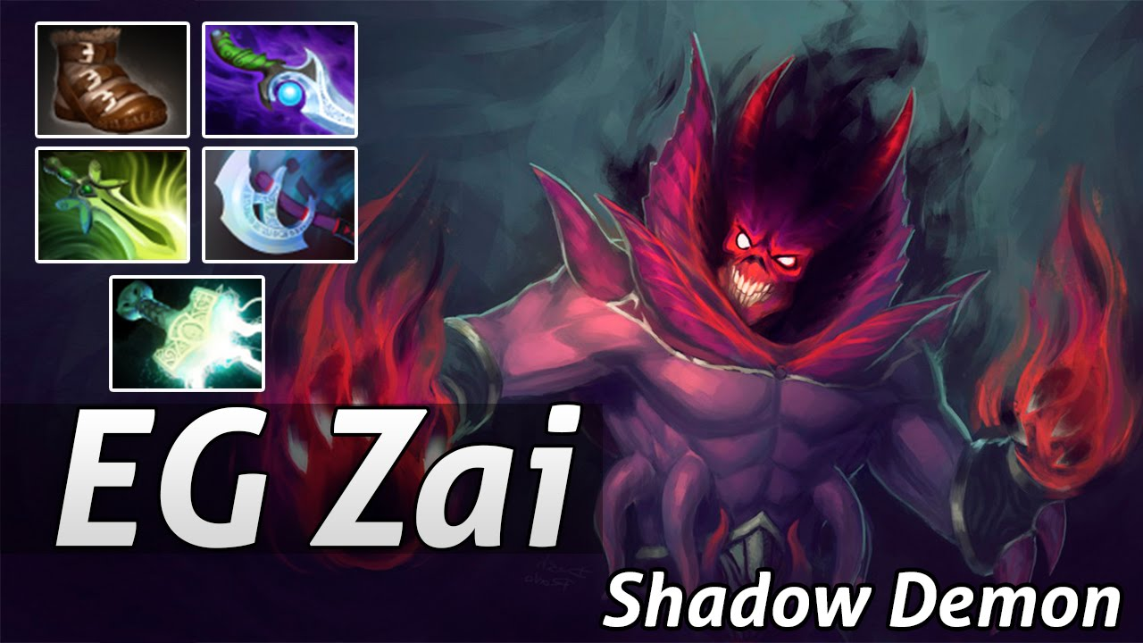shadow demon dota 2 pro support by eg zai dota 2 epic moments