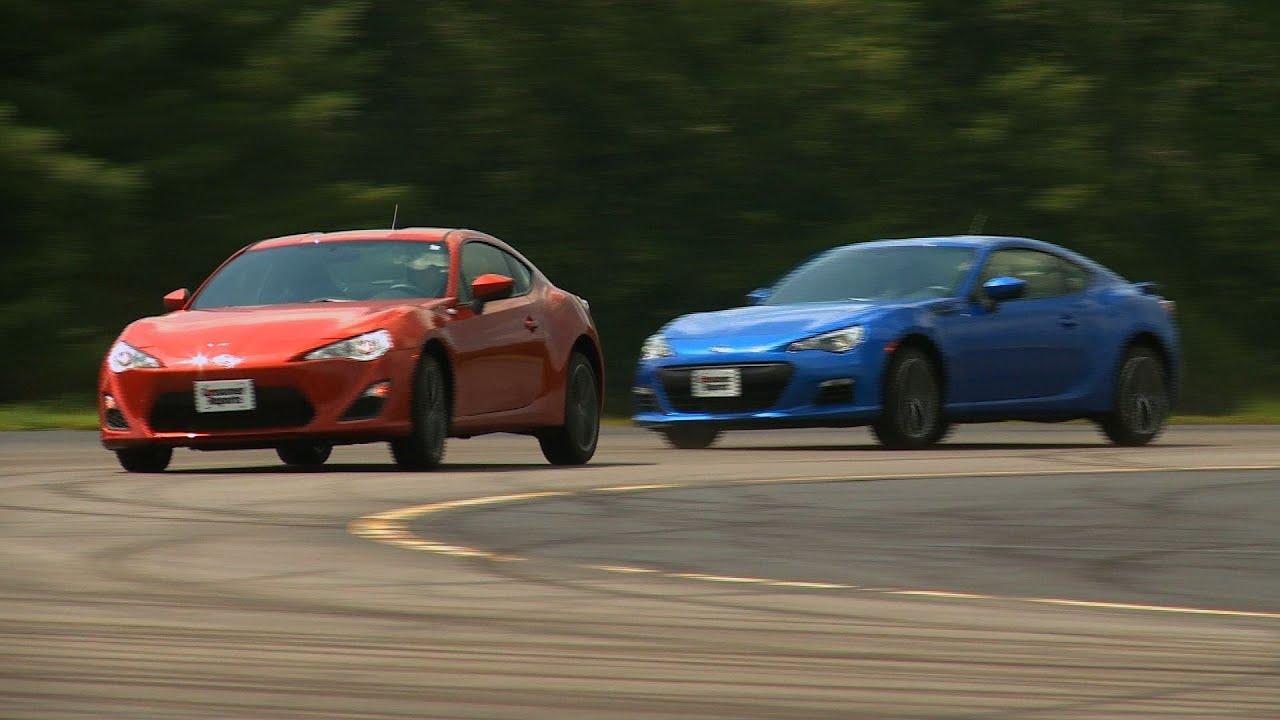 Worksheet. Scion FRS vs Subaru BRZ at Consumer Reports test track  Consumer