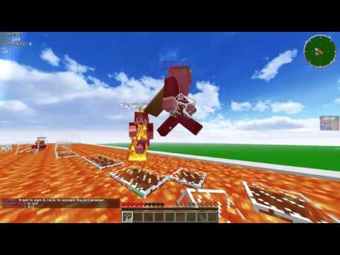 """Minecraft COMPETITIVE LAVA RACE """"3v3 W/ The Pack"""""""