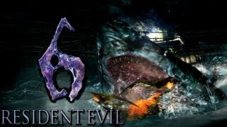Resident Evil 6 (with Zack & Ashley): Shark Beat Down!