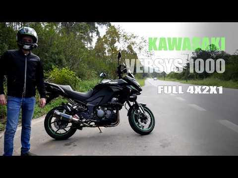 Jeskap K7 Full - O MELHOR ESCAPE - VERSYS 1000