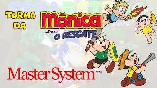Turma da Mônica em: O Resgate - Master System - Review