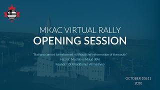 Opening Session | Day 1| National Virtual Educational Rally 2020 | MKAC