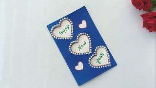 Beautiful Handmade Happy New Year 2020 Card Idea DIY Greeting Cards for New Year