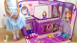 キッズテント ソフィアの靴屋さん ドレスシューズ / Disney Sofia The First 3D Playscape : Princess Shoe Boutique thumbnail
