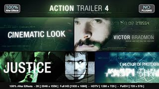 Videohive Action Trailer 4 After Effects Template