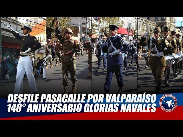 [NO VISTO EN TV] Desfile pasacalle por Valparaíso 21 de mayo 2019 4/4