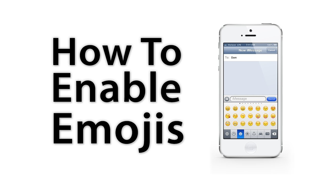 how to enable emojis on iphone ios 6 ios 5 how to enable emoji keyboard iphone 5 18776