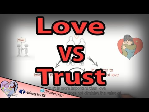 love and trust 5 Reasons Why Trust Is More Important Than Love in relationships | animated