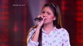Camila cantó Alguien de Kany García - LVK Col - Audiciones a ciegas – Cap 3 – T2