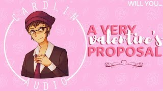 ASMR Voice: A Very Valentine's Proposal [M4A] [Romantic] [Best kind of surprise]