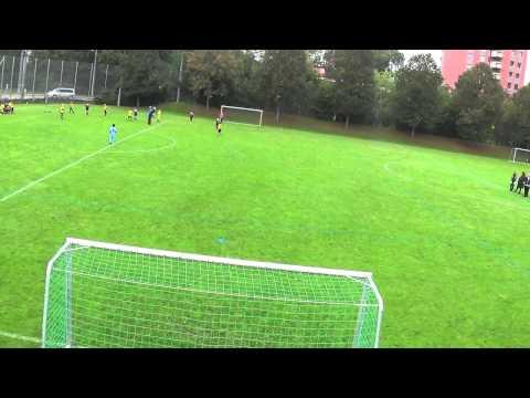 1. Halbzeit BSC Old Boys Basel U10 - AS Timau Basel a 26.09.2015
