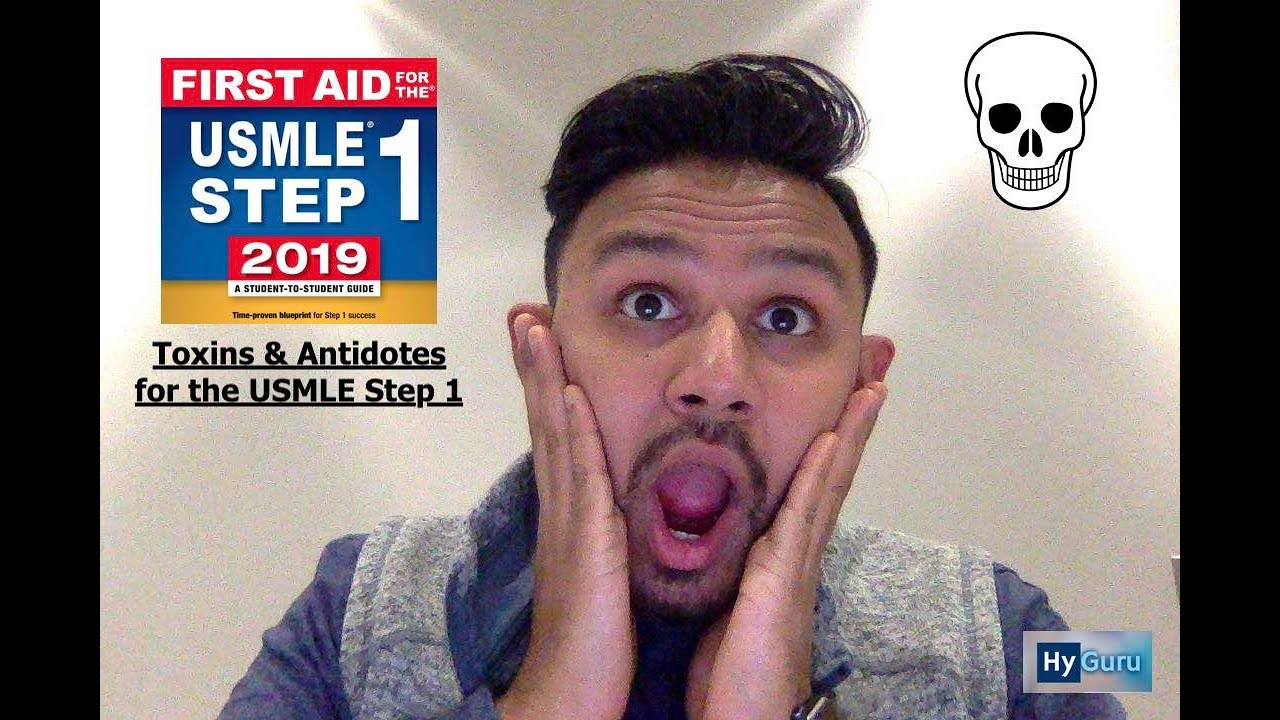 Toxicities & Antidotes for the USMLE Step 1 - YouTube