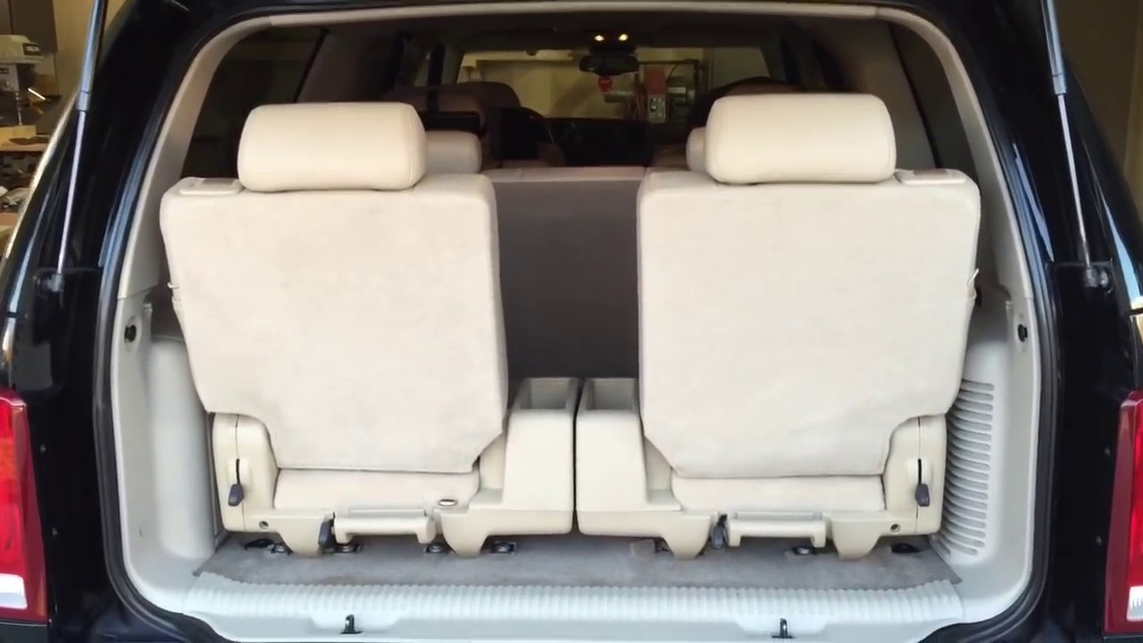 tahoe 4th row seat autos post. Black Bedroom Furniture Sets. Home Design Ideas