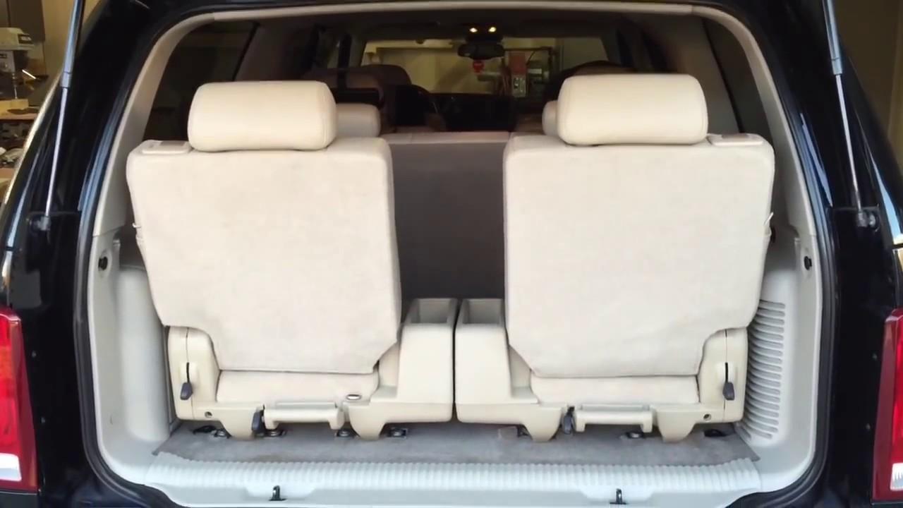 4th row seating in escalade suburban or yukon xl [ 1280 x 720 Pixel ]