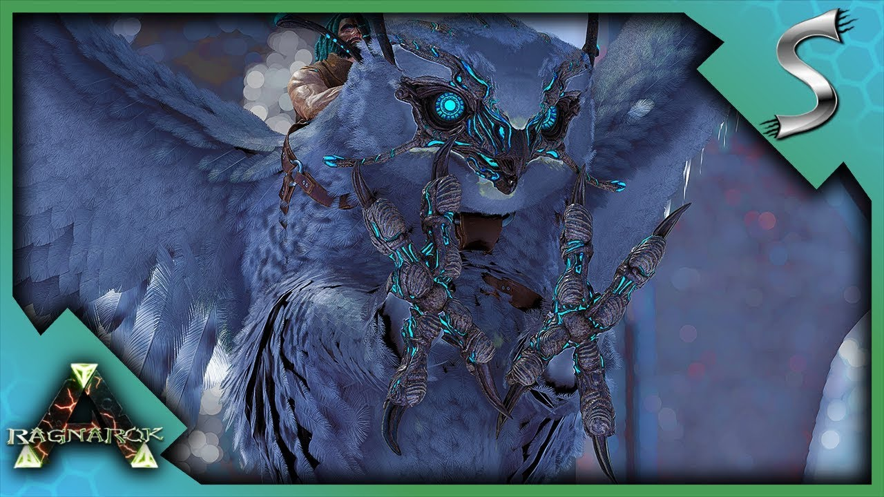 Download MAX LEVEL SNOW OWL TAMING FRENZY! - Ark: Survival Evolved [Cluster E17]