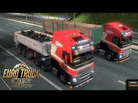 Euro Truck Simulator 2 MP #1 - Head On, HEAD ON!
