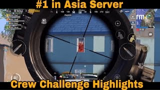 2 Matches Which Got Us To #1 in Crew Challenge in Asia Server Team SouL PUBG Mobile