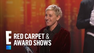 Download Ellen Degeneres breaks the record for most People's Choice Awards! | E! People's Choice Awards Mp3 and Videos