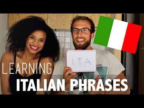 AMERICAN TRIES ITALIAN PHRASES   FUN WITH LUDO!   LANGUAGE SERIES
