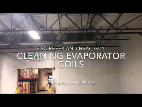 Refrigeration Life # 12 . Evaporator Coil Cleaning