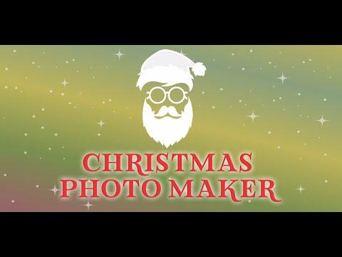 Christmas Photo Maker - Mobile application