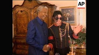 Michael Jackson in South Africa (1996) - AP Archive