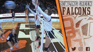 BG Volleyball Highlights vs Akron 10.26