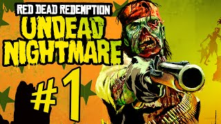 Red Dead Redemption : Undead Nightmare - Parte 1: APOCALIPSE ZUMBI! [ Xbox One - Playthrough ]