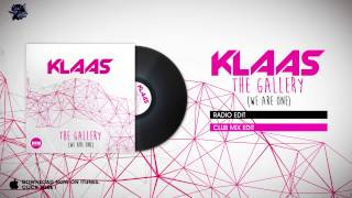 Klaas - The Gallery (Radio Edit) image